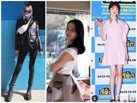 Thời trang sao Hàn: 'Tiên nữ cử tạ' Lee Sung Kyung dát hàng hiệu trăm triệu - 'chị đẹp' Son Ye Jin giản dị bất ngờ