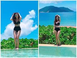 Hot girl - hot boy Việt: Midu phô diễn hình thể quyến rũ với bikini