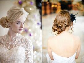 5 kiểu tóc hoàn hảo cho cô dâu trong ngày cưới