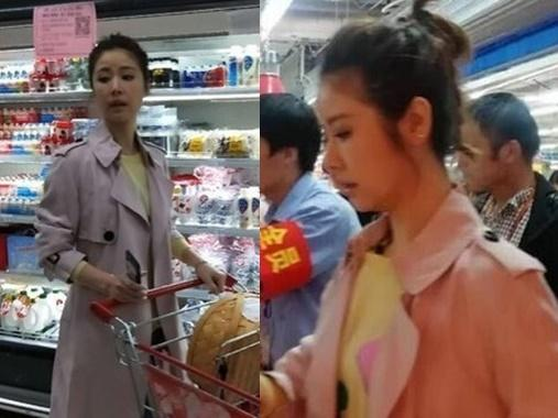 Lâm Tâm Như một mình đi siêu thị, ngơ ngác vì không thể phân biệt bột mì và hạt lúa mì