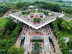 Cận cảnh đền tưởng niệm các Vua Hùng lớn nhất Nam Bộ