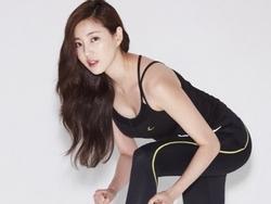 'Hoa hậu ngực khủng' Kim Sa Rang bị gãy chân vì ngã xuống cống