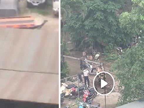 Thực hư việc cảnh sát giao thông Hà Nội dung túng tháo đồ xe vi phạm