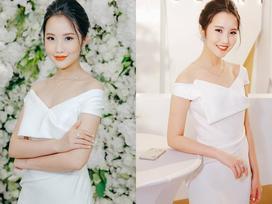 Hot girl - hot boy Việt: Bạn gái Phan Thành khoe vẻ đẹp rạng ngời khi đi dự sự kiện