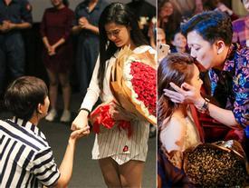 Nghìn kiểu sao Việt cầu hôn, cùng lãng mạn là thế nhưng người được khen tới tấp - kẻ lại chịu chỉ trích lố lăng