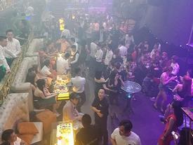 Trăm cảnh sát kiểm tra quán bar 'khủng' ở Sài Gòn trước kỳ nghỉ lễ