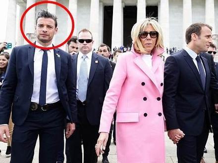 Vệ sĩ của tổng thống Pháp gây chú ý vì đẹp trai như tài tử
