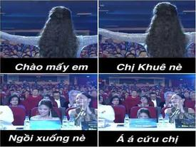 Bằng chứng cho thấy Lan Khuê chính là người đẹp... té nhiều nhất trong showbiz