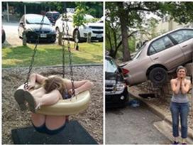 Những tai nạn khiến người xem 'thốn lên tận rốn'