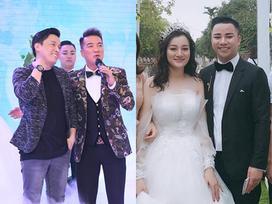 Sau loạt ảnh nhá hàng, Hữu Công xuất hiện cực điển trai bên cô dâu xinh đẹp cùng các khách mời nổi tiếng