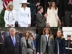 Những lần mặc suit ấn tượng của Đệ nhất phu nhân Mỹ Melania Trump
