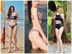Diện bikini sexy, Hòa Minzy - Mlee đồng loạt khoe số đo cơ thể 'bỏng mắt' tận hưởng ngày nghỉ lễ
