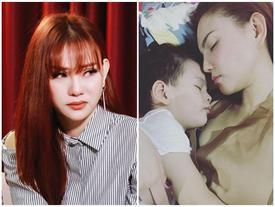 Ru con trai 'Mẹ thương con vì con giống ba', Thu Thủy thừa nhận 'mẹ ngộp thở, nước mắt tuôn rơi'