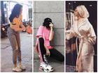 Angela Phương Trinh ăn vận kín đáo đi từ thiện - Huyền Baby diện áo choàng tắm vẫn đúng chất 'hội nhà giàu'