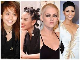 Loạt ảnh chứng minh chỉ cần thay đổi kiểu tóc, mỹ nhân lập tức 'vịt hóa thiên nga'