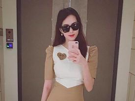 Xuất hiện với vóc dáng siêu thon gọn chỉ sau hơn 1 tháng sinh con, hoa hậu Đặng Thu Thảo khiến nhiều người 'đứng hình'