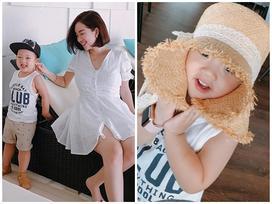 Hot girl - hot boy Việt: Ly Kute đưa con trai dạo chơi Sài thành
