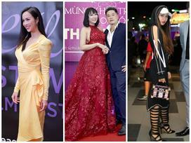 Lỡ chọn váy lộ nhược điểm hình thể, Phi Thanh Vân - Vũ Ngọc Anh đứng đầu top sao xấu