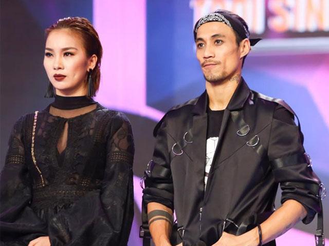 Phạm Lịch và Phạm Anh Khoa trong một gameshow .