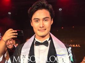 Sao Hàn 5/5: Nhan sắc mỹ nam Hàn đăng quang Nam vương Mister International 2018