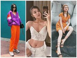 Street style giới trẻ: Tú Hảo kín đáo đối lập Đồng Ánh Quỳnh sexy