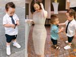 Hot girl - hot boy Việt: Khoai Tây phong độ cùng mẹ Ly Kute tham dự đám cưới dì Diệp Lâm Anh