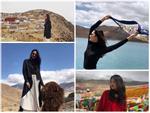 Ngắm thiên nhiên huyền ảo xứ Tây Tạng từ flycam-1