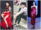 Thót tim với thú chơi giày 'cà kheo' nhìn là hãi của dàn mỹ nhân Việt