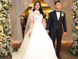 Bí mật về hai chiếc váy cưới trị giá 200 triệu của Diệp Lâm Anh