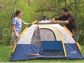 Cách dựng lều chỉ trong 5 phút khi đi du lịch