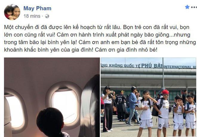 Phạm Anh Khoa và gia đình đi du lịch giữa scandal gạ tình