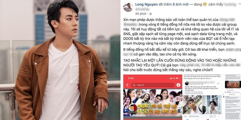 Bị bôi nhọ, Rocker Nguyễn đanh thép tuyên bố ra mặt đối chất đời tư và dọa xóa hàng loạt page lớn