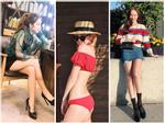 Street style sao Hàn: Irene diện bikini sexy - Jessica tận dụng công thức mix đồ khoe chân dài