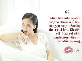 Nói về ông xã đào hoa, Trang Pilla khẳng định: 'Tôi hay anh từng có mối tình riêng. Ai cũng hiểu đó là quá khứ'