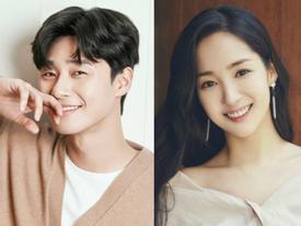Sao Hàn 8/5: Park Seo Joon bày tỏ cảm xúc khi đóng chung cùng Park Min Young