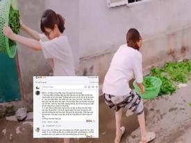 Bố chồng tương lai phê bình 'không biết vẩy rau', cô gái lên mạng nói xấu nhà người yêu cũ