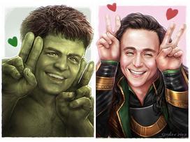 Loạt ảnh chibi siêu cute của các siêu anh hùng trong vũ trụ điện ảnh Marvel
