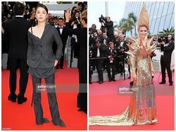 Những bộ váy kém tinh tế trong ngày đầu thảm đỏ Cannes 2018