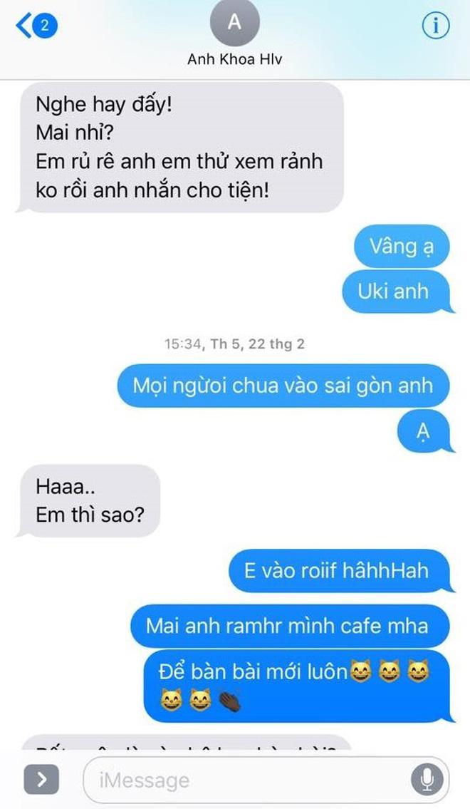 Phạm Lịch đăng tải toàn bộ tin nhắn giữa cô và Phạm Anh Khoa lên trang cá nhân 11