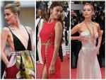 CANNES ngày 3: Thảm đỏ ngập tràn thời trang xuyên thấu và không nội y