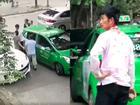Thanh niên choảng tài xế taxi tóe máu 'gây bão' ra công an làm việc