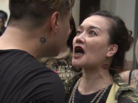 Clip hot: 'Bà trùm' Vân Dung thị uy khiến Phan Hải tức 'nổ đom đóm mắt'