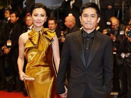 Thấy gì khi Lương Triều Vỹ bỏ mặc vợ và loạt sao nữ bị đuổi ở Cannes?