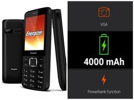 Điện thoại có pin khủng, chạy 31 ngày, sạc điện cho cả dế khác