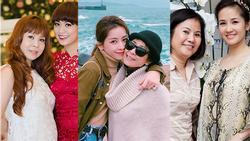Những bà mẹ của Sao Việt vừa trẻ đẹp lại nổi tiếng không thua kém con cái