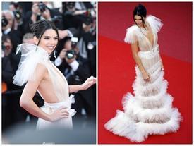 Lộ nhũ hoa, Kendall Jenner vẫn đẹp như tiên nữ 'cân' dàn mỹ nhân thế giới