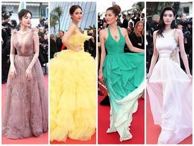 Thảm đỏ Cannes ngày 6: Cổ Lực Na Trát xuyên thấu toàn thân cũng chẳng bằng mỹ nhân Thái nửa kín nửa hở