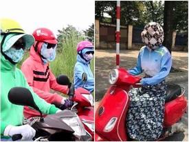 'Ninja' khoe sắc trong bộ sưu tập áo chống nắng sặc sỡ