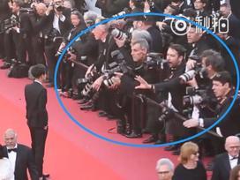 Thêm pha 'muối mặt' của sao Hoa ngữ tại Cannes: Hoàng Tử Thao bị 'đuổi khéo' vì kém duyên