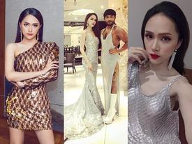 Hoa hậu Hương Giang chính là người đẹp mê đồ lấp lánh nhất Vbiz